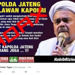 DEMO 2 DESEMBER : Polda Jateng Bantah Tudingan Habib Rizieq