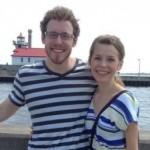 Scott dan Johanna sebelum alergi Johanna menjadi parah (People.com)