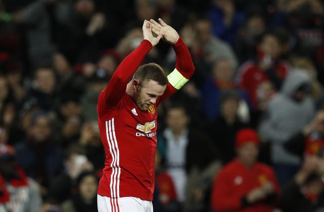 Kapten Manchester United, Wayne Rooney. (Reuters / Phil Noble)