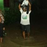 BANJIR SUKOHARJO : Talut Kesongo Longsor Lagi, Warga Tegalmade Waswas