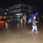 BANJIR SUKOHARJO : Foto-Foto Banjir Jl Jenderal Sudirman, Macet!
