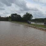 BANJIR SUKOHARJO : Hujan Deras, 225 Rumah dan 130 Ha Sawah di Weru Terendam