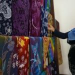 BATIK KULONPROGO : Ekonomi Lesu, Omzet Penjualan Batik Menurun