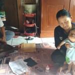 KISAH TRAGIS : Warung Kena Proyek Parapet, Kini Anak Didiagnosis Hydrocephalus