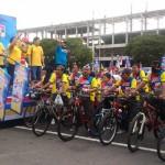 8.000 Peserta Meriahkan Indomaret Gelar Fun Bike Fun Run 2016 di Mandala Krida