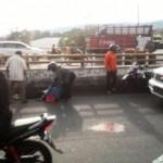 KECELAKAAN SEMARANG : Kecelakaan Dekat RS Ken Saras, 1 Tewas