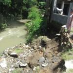 LONGSOR SUKOHARJO : Korban Longsor Makamhaji Minta Talut Sungai Pijilan Dibenahi