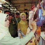 Distankan dan Satpol PP Operasi Non Yustisi Pedagang Daging Salatiga