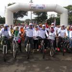 HUT KARANGANYAR : Meriah, Ribuan Warga Ikuti Sepeda Sehat Intanpari 2016