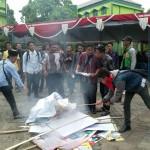 DEMO PONOROGO : Mahasiswa Bubarkan Unjuk Rasa Dosen STAIN Ponorogo