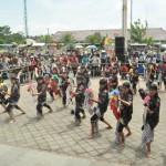 Festival Tari Rakyat di Alun-Alun Boyolali Sepi Penonton