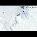 Gunung Es 1 Triliun Ton Terpisah dari Antartika