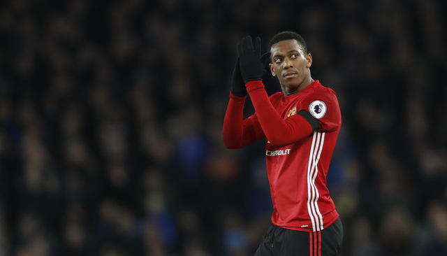 Pemain Manchester United, Anthony Martial. (Reuters / Carl Recine)