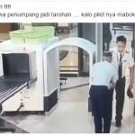 TRENDING SOSMED : Ini Video Pilot Diduga Mabuk