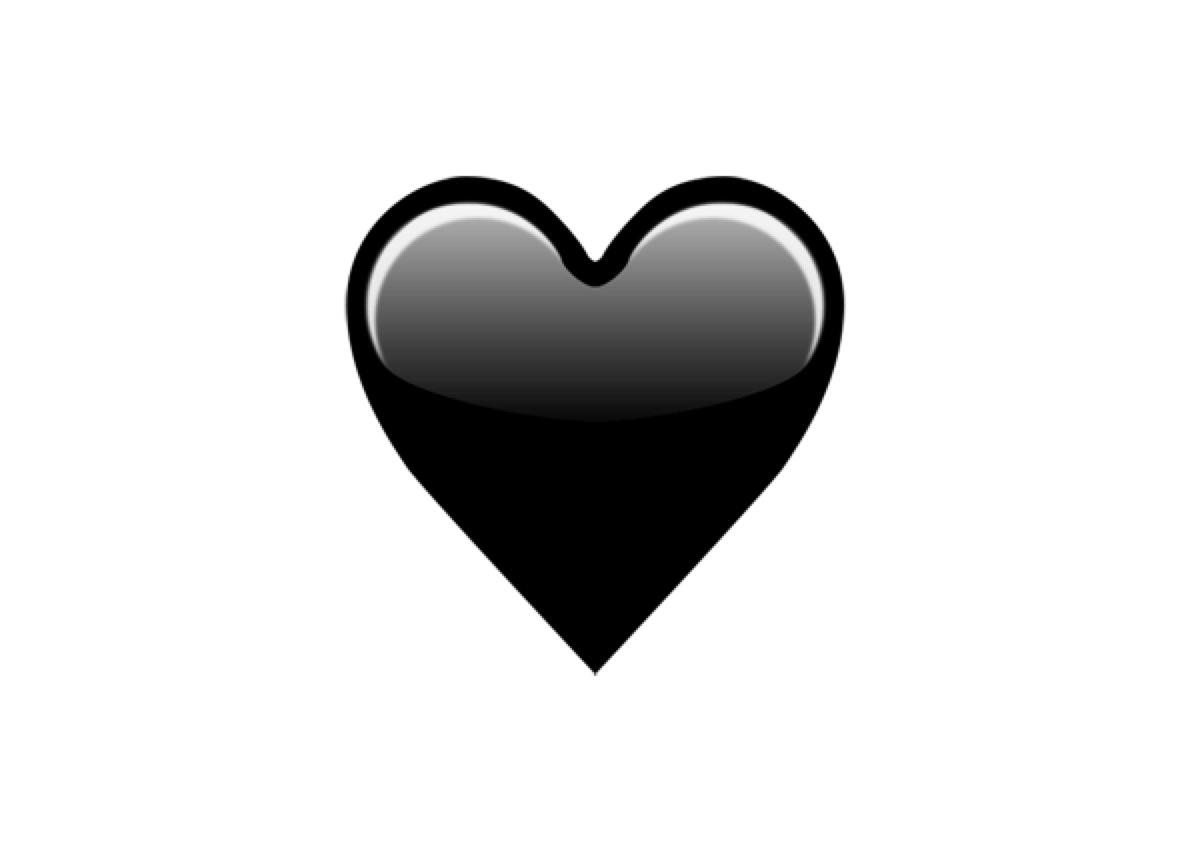 Black Heart (Blogemoji)