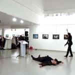 Ini Video Detik-Detik Dubes Rusia untuk Turki Ditembak