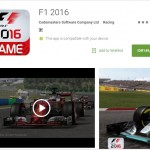 GAME TERBARU : Game F1 2016 Bisa Dimainkan di Android