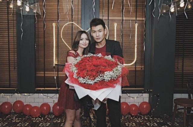 Fendy Chow dan Stella Cornelia Winarto (Instagram @stellarcor)