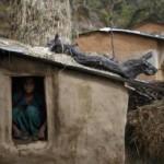Gubuk yang digunakan untuk mengurung wanita haid di Nepal (Reuters)