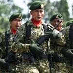 FOTO HARI JUANG KARTIKA : Ambarawa Meriah oleh Tentara