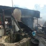 KEBAKARAN SOLO : Rumah Terbakar di Timuran Bertambah Jadi 8 Unit