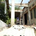 FOTO BENCANA SRAGEN : Begini Kondisi Rumah-Rumah yang Rusak Akibat Diterjang Puting Beliung