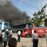 KEBAKARAN SRAGEN : Pabrik PT Pan Brothers di Bulu Kobong!
