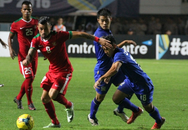 Indonesia vs Thailand (PSSI.org)