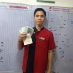Jayward Comendador kembalikan uang puluhan juta yang ditemukannya di kamar hotel (Viral4real)