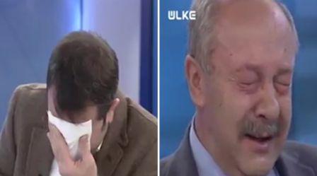 Jurnalis Turki menangis beritakan Aleppo (Metro.co.uk)