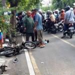 KECELAKAAN SEMARANG : Tabrak Pohon, Remaja Terkapar di Tepi Jalan