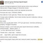 Viral! Lelucon Grup WA Bapak-Bapak Bikin Ketawa Nyengir