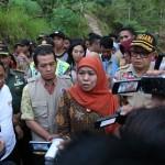 Gus Ipul Diusung PDIP, Khofifah Temui Kiai Sepuh Tebuireng