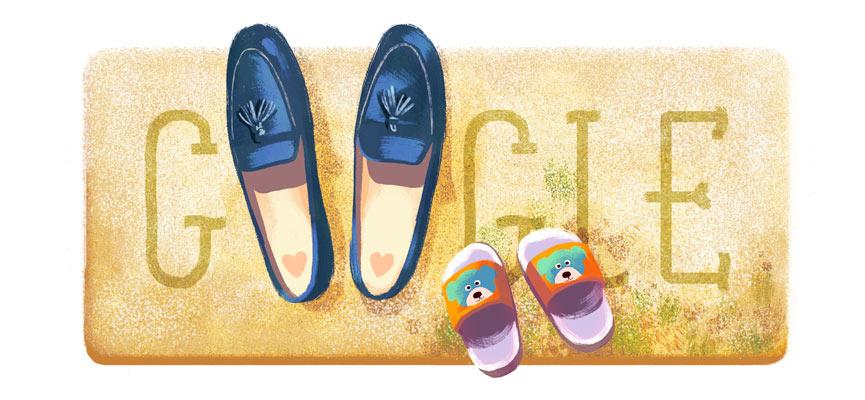 Google Doodle Hari Ibu (Google)