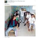 Murid SMA parodikan bus ugal-ugalan (Facebook)