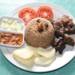 KULINER SOLO : Nasi Kebuli Tanpa MSG di Warung Kambing Bakar Bakkah