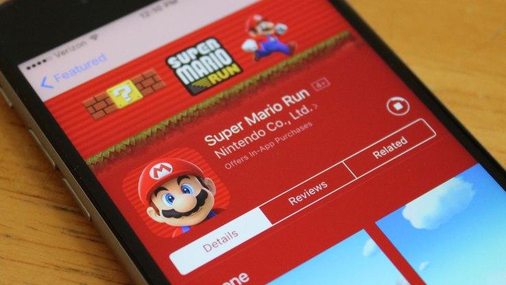 Super Mario Crunch (Techcrunch)