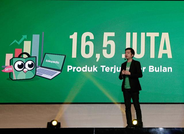 William Tanuwijaya, CEO dan Co-Founder Tokopedia | Foto: JIBI/Solo Pos
