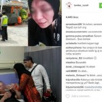 Foto yang diunggah akun gosip @lambeturah tentang penganiayaan adik Faldi Akhmad, Farah Dibba. (Istimewa/Instagram)