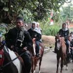 Arak-arakan Salawat dan Gunungan Jadi Puncak Perayaan Maulid Nabi di Potorono