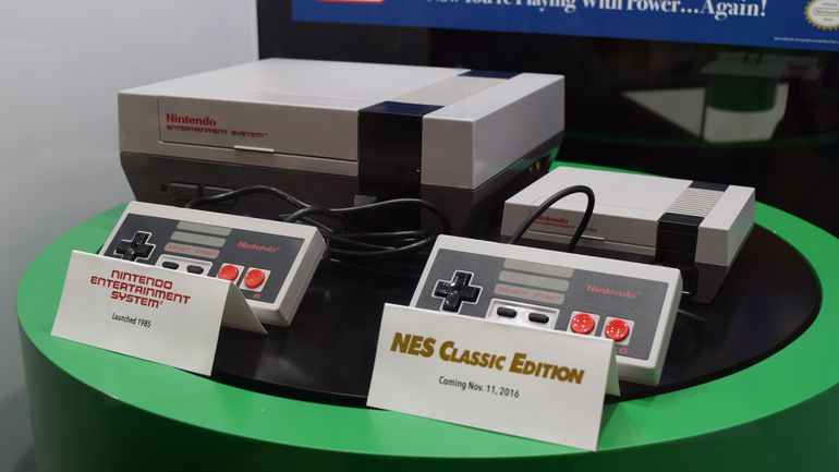 NES mini. (Istimewa)
