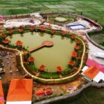 Danau Resto di Jl. Gajahmada, Kuripan, Purwodadi, Kabupaten Grobogan, Jateng. (Facebook.com-Restu Ae)
