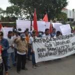 DEMO SUKOHARJO : Warga Manisharjo Tuntut Perdes Dicopot karena Diduga Selewengkan Bantuan