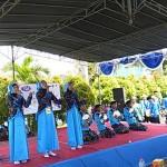 FESTIVAL ANAK SOLEH INDONESIA : Ribuan Santri Cilik se-Jateng Ikrarkan Komitmen terhadap NKRI