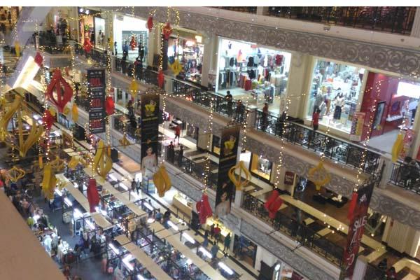 Suasana Jogja City Mall saat hari Natal, Minggu (25/12/2016). (Harian Jogja/Kusnul Isti Qomah)
