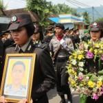 Polisi Korban Pesawat Polri Dimakamkan di Trenggalek