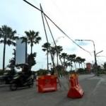 LALU LINTAS SOLO : Kabel Melintang Rendah di Purwosari Tak Jelas Pemiliknya