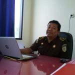 Seksi Pidana Khusus Kejari Ponorogo, Happy Al Habiebie. (Abdul Jalil/JIBI/Madiunpos.com)