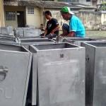 PILKADA KULONPROGO : KPU Mulai Bersihkan Kotak Suara