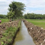 PENGAIRAN KLATEN : Tak Mau Kebanjiran, Petani Bayat Berswadaya Normalkan Saluran Irigasi